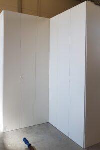 armadio angolare su misura